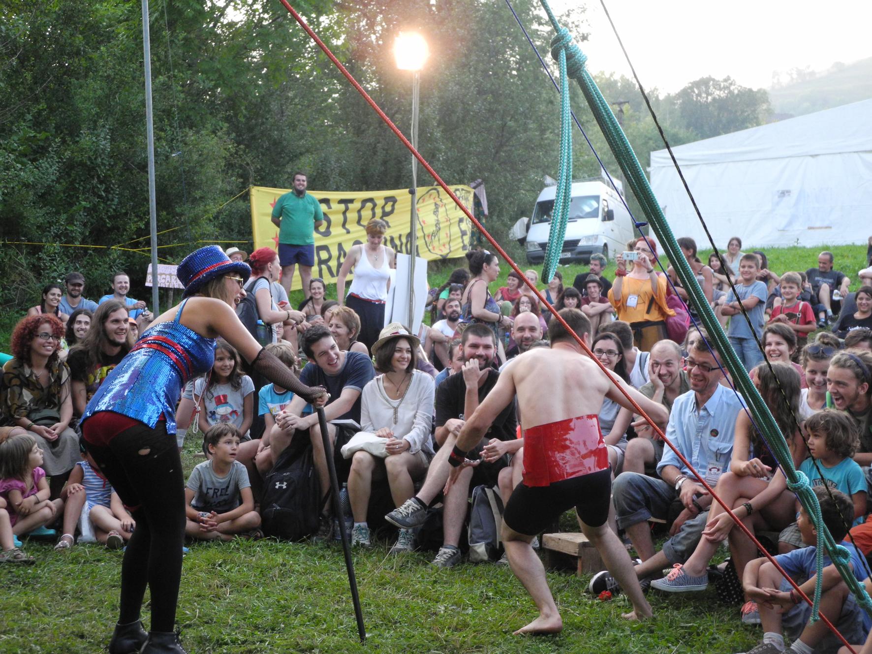 Rosia Montana, Fân Fest #9. Bild: Manfred Mehrer/ MIMAtelier